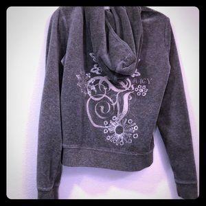 Juicy Couture Hoodie Grey XL